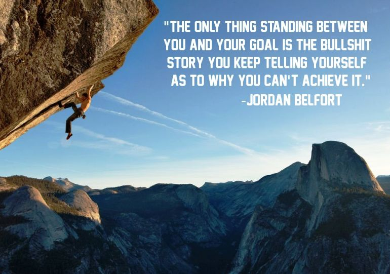 Jordan Belfort On Goals