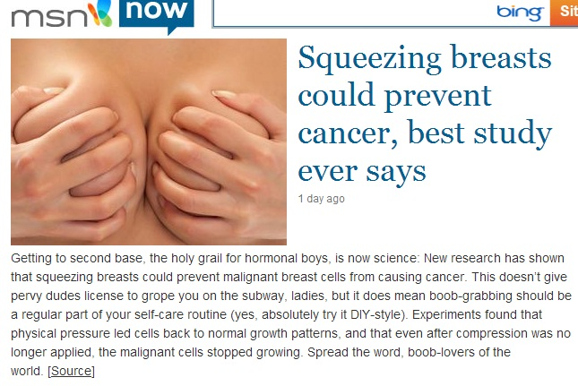 Perfect Way to Prevent Cancer