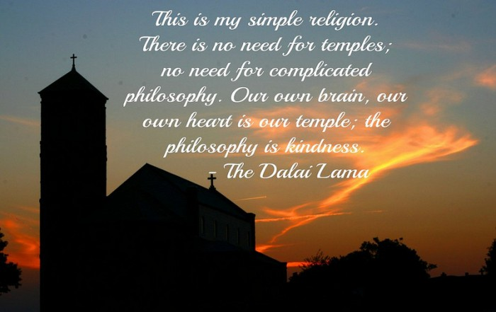 Dalai Lama on Religion