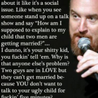Louis CK on how some people view gay marriage