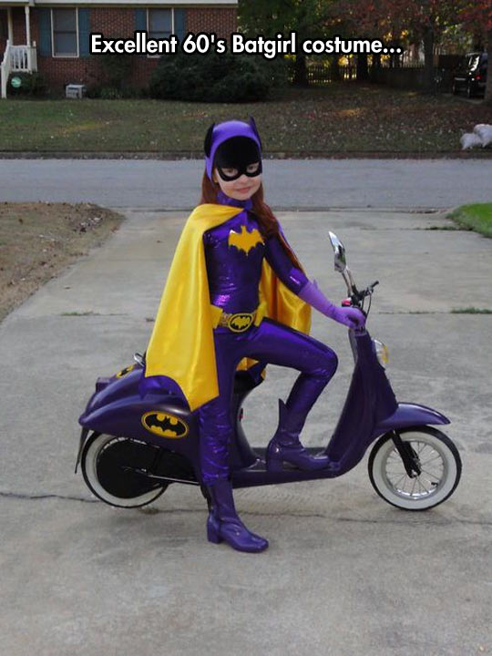 Incredible Well Done Batgirl Cosplay