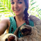 cute-girl-volunteer-sloths