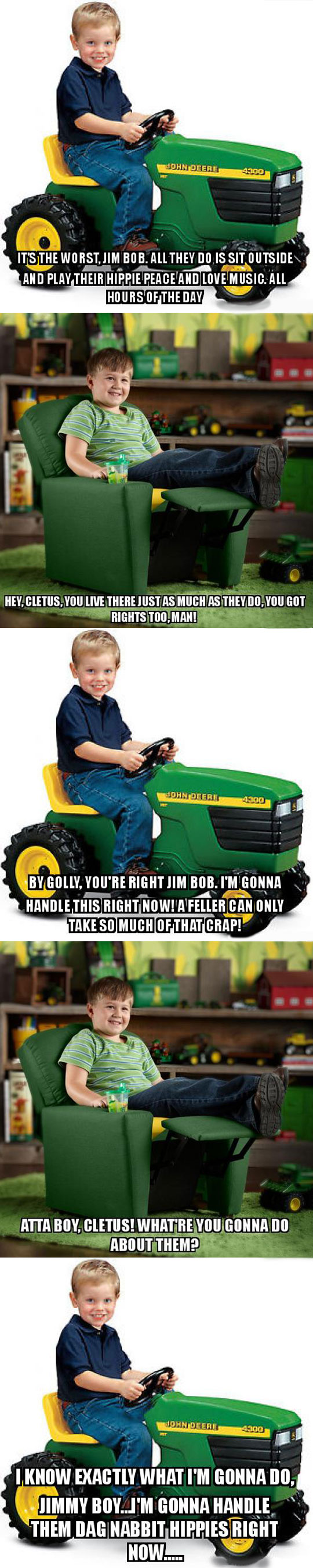 funny-kids-talking-green-truck