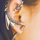 funny-dragon-earring-metal-hair