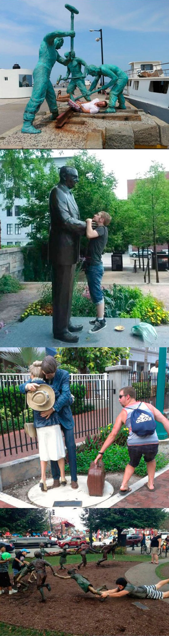 funny-guys-statue-posing-interacting