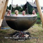 funny-pot-water-bath-outside-fire