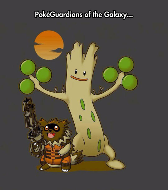funny-Pokemon-Guardians-Galaxy-Groot-Raccoon