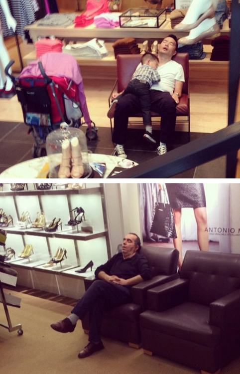 Men Shopping With Their Ladies  05