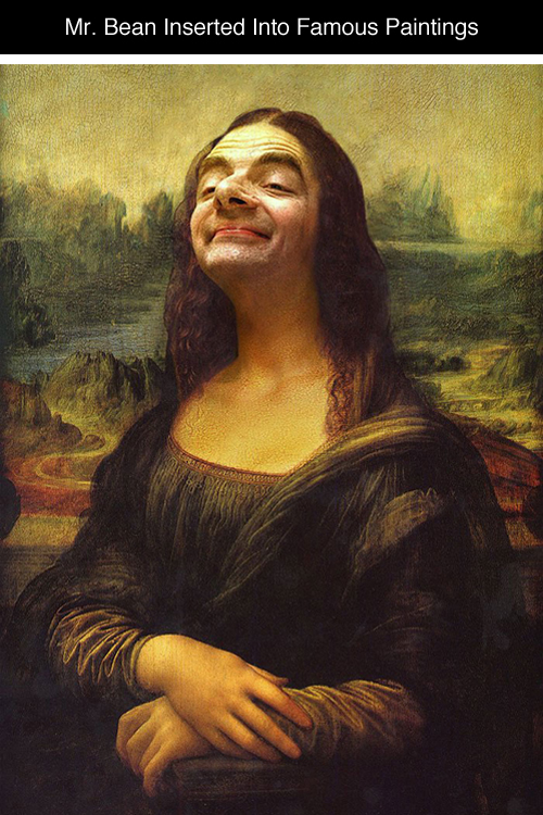 Mr. Bean Inserted Into Famous Portrait Paintings 01