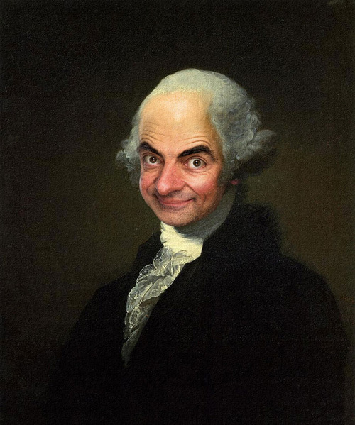 Mr. Bean Inserted Into Famous Portrait Paintings 03