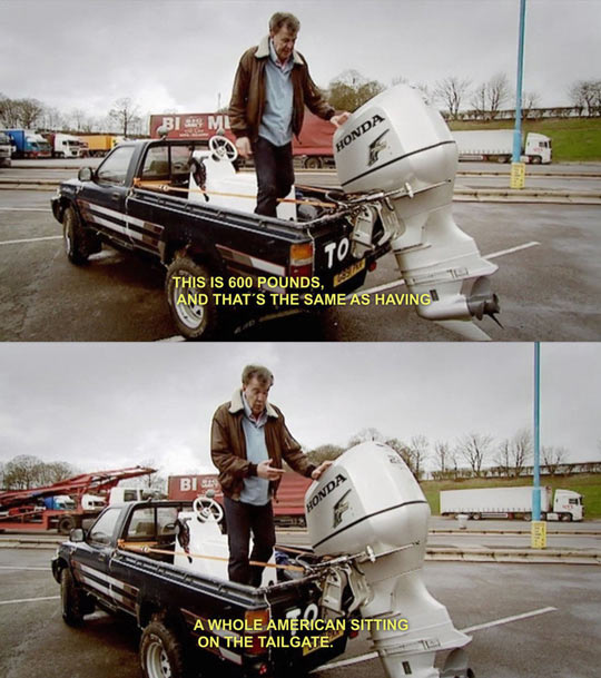 One Of The Many Reasons I Love Top Gear