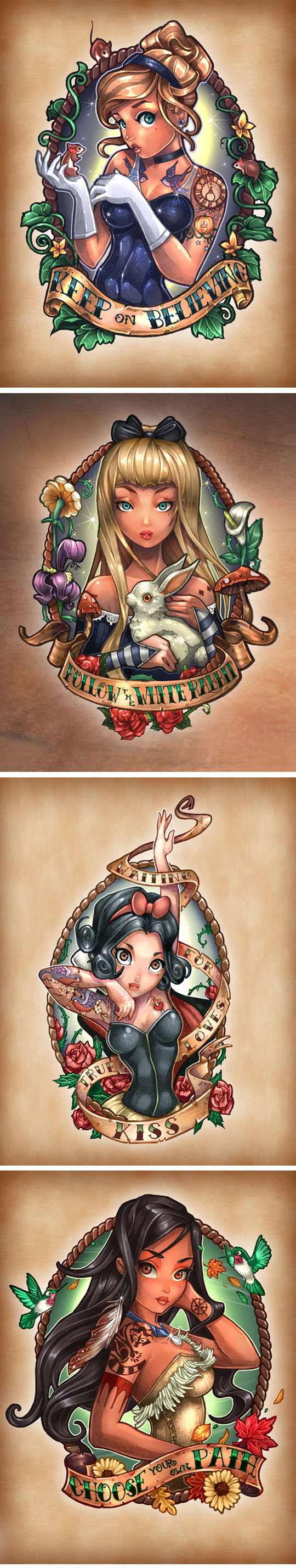 cool-Disney-Princesses-tattoo