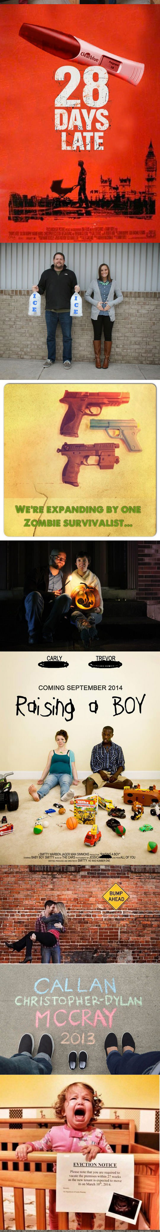 funny-creative-pregnant-family-announcement