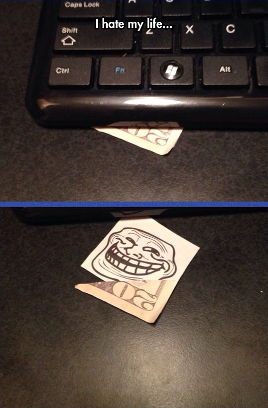 funny-keyboard-joke-troll-money