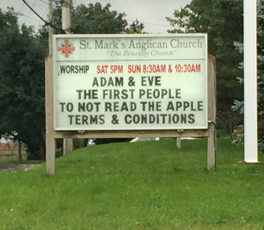 Adam And Eve Started The Tradition