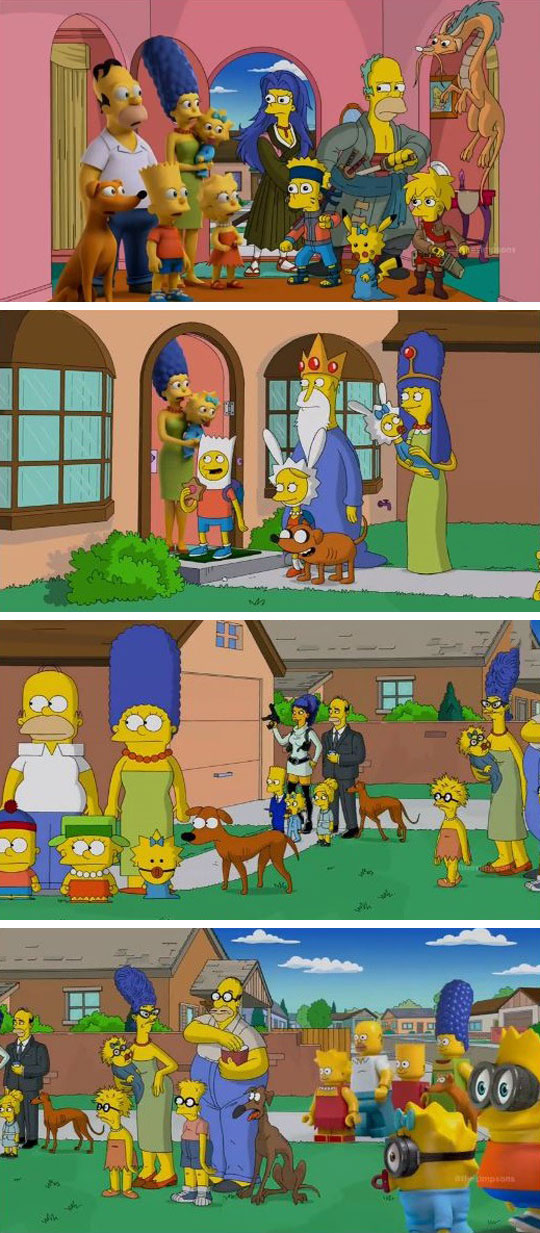funny-Simpsons-crossover-Adventure-Time