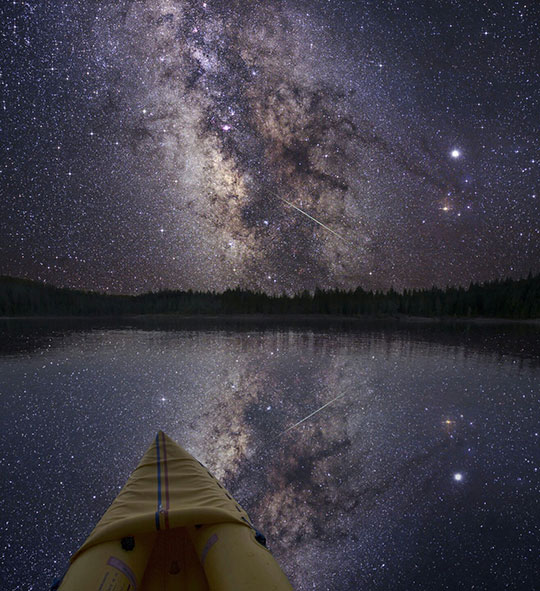 Amazing View Of The Milky Way