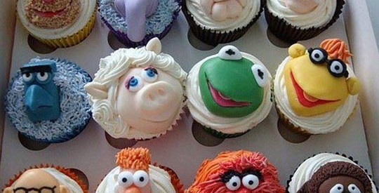 Delicious Muppets Cupcakes