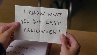 I know what you did last Halloween 01