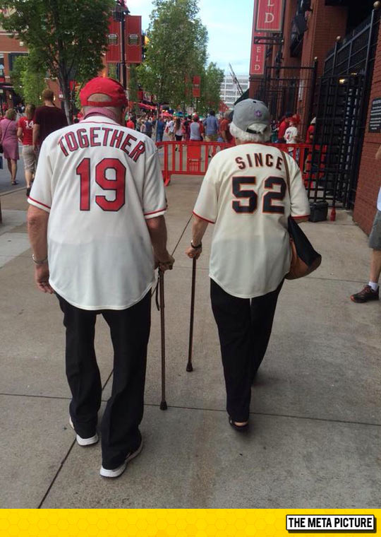 Cutest Old Couple